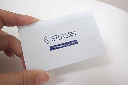 ストラッシュのメンバーズカードの画像