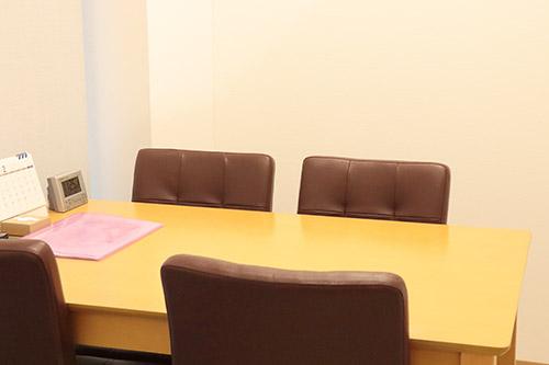 カウンセリングルームの画像