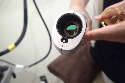 ジェントルレーズプロの照射口の画像